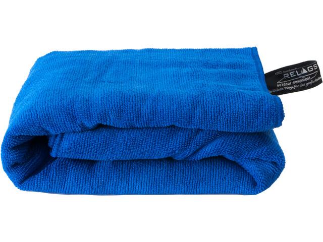Basic Nature Terry Serviette pour chien 60x120cm, blue